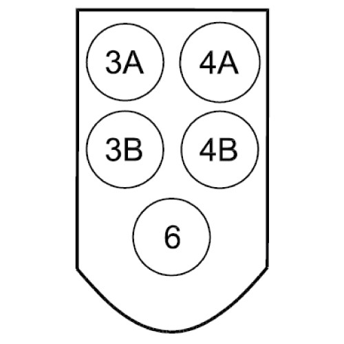 PROF1-FRONTPLATTE/162B2005