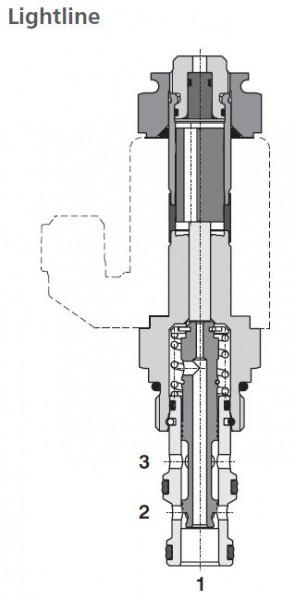 3/2 WEGEVENTIL SD2E-A3/L2D26