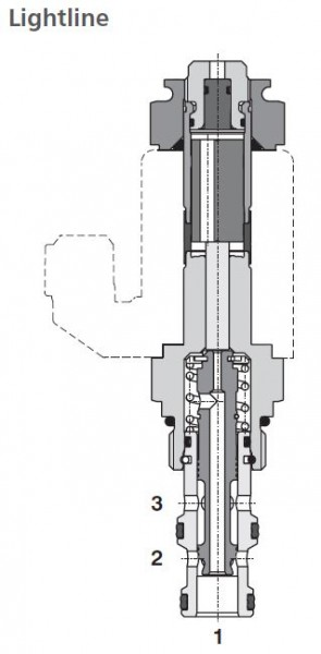 3/2 WEGEVENTIL SD2E-A3/L2D26M9