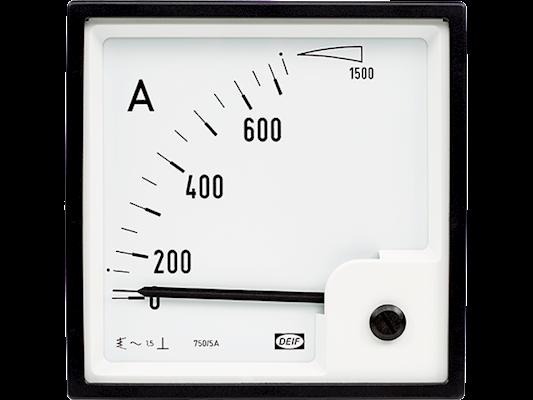 AMPEREMETER EQ96-x 0-600A/1A