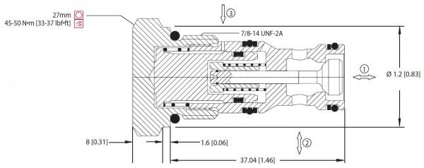 RÜCKSCHLAGVENTIL MC10-RO / 805308319