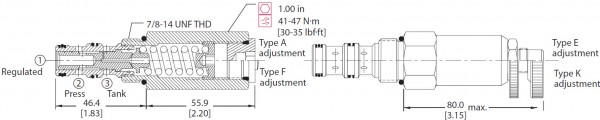 DRUCKMINDERVENTIL CP230-1 / H131532