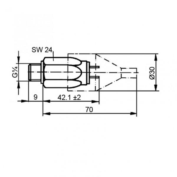 DRUCKSCHALTER DSO 1,2 G1/4 ST / 77870587