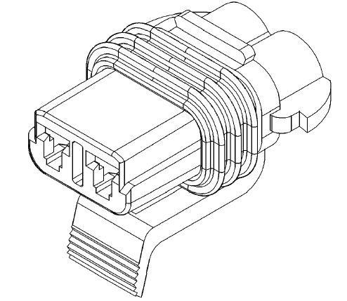 Buchse KIT 15300027 für HP-Kühler