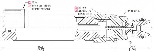 PROP. DRUCKBEGRENZUNGSVENTIL XMD 04 / 850131619