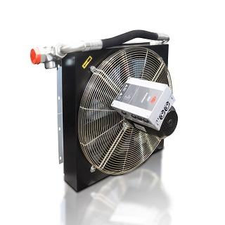 Öl-Luft Wärmetauscher