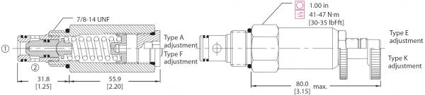 DRUCKBEGRENZUNGSVENTIL CP200-1 / 11013399