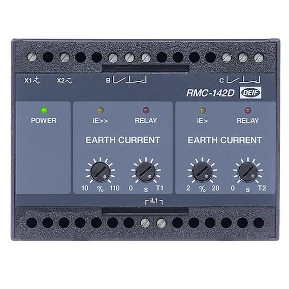 ERDSCHLUSSSTROMRELAIS RMC-142D-1A-50Hz-NE-NE-1s-20s-24V