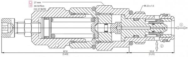 DRUCKBEGRENZUNGSVENTIL VSB 06-EN / 810152319