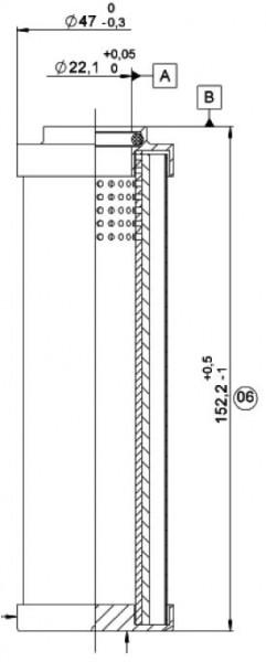 FILTERELEMENT H 0110 DH 2 003 / 77889363