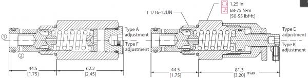 DRUCKBEGRENZUNGSVENTIL CP211-1 / 83055201