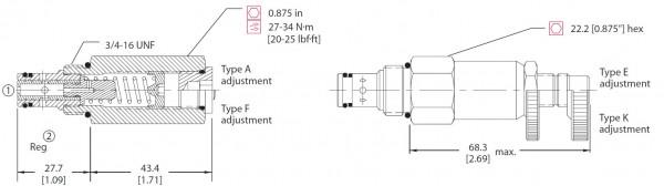 STROMREGELVENTIL CP308-2 / 140057